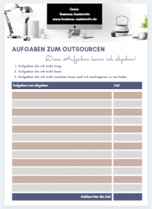 Worksheet Freebie Outsourcing